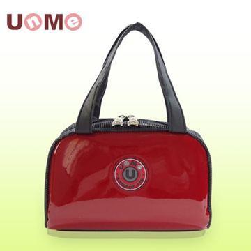 【UnMe】可愛立體餐袋/鏡紅色