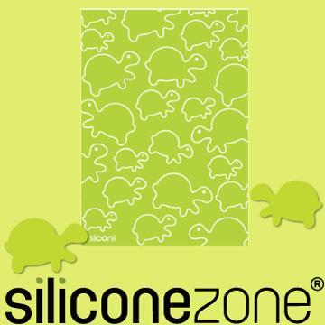 【Siliconezone】施理康Siconi環保矽膠任意桌貼布-綠蠵龜