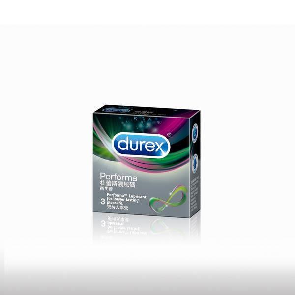 Durex杜蕾斯-飆風碼 保險套(3入)
