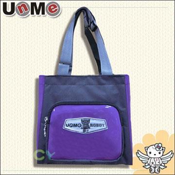 【UnMe機器人】造型輕巧餐袋/紫色