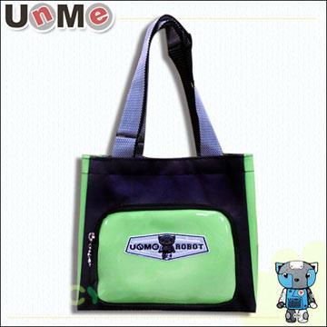 【UnMe機器人】造型輕巧餐袋/綠色