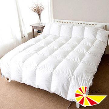 【凱蕾絲帝】台灣製造-帝王級(98%純絨)純天然立體純棉羽絨被-雙人6**7尺