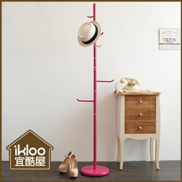 【ikloo】時尚樹枝型衣帽架/掛衣架
