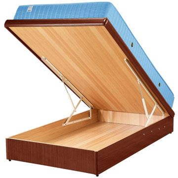 Yostyle 麗緻掀床台+獨立筒床墊(四色可選)-單人3.5尺