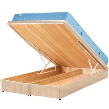 Yostyle 麗緻掀床台+獨立筒床墊(四色可選)-雙人5尺