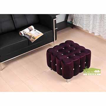 【耐克美】-菈蒂水鑽大型沙發椅/客椅/穿鞋椅