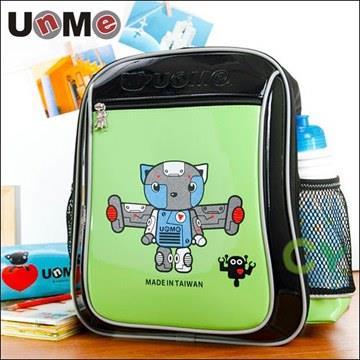 【UnMe機器人】造型輕量後背書包/青綠色