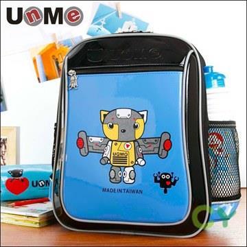 【UnMe機器人】造型輕量後背書包/藍色