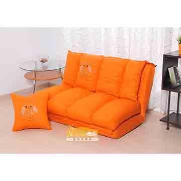 【耐克美】傑森Jason雙人五段式純棉質沙發床