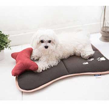【凱蕾絲帝】混仿羊毛保暖耐用可水洗~寵物止滑睡墊(大)-適合10~35公斤使用