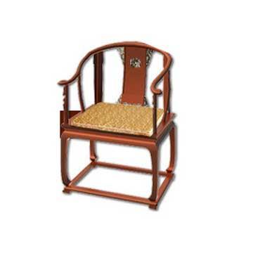 【凱蕾絲帝】木椅通用 高支撐記憶聚合(富貴金)薄坐墊(1人專用)-不含木椅