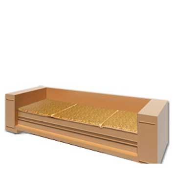【凱蕾絲帝】木椅通用 高支撐記憶聚合(富貴金)薄坐墊(3人專用)-不含木椅