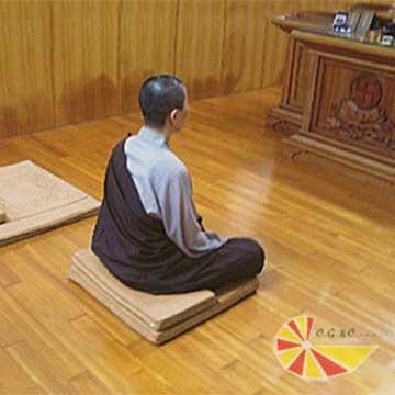 【凱蕾絲帝】記憶支撐佛拜墊~禪坐墊台灣製造高級材質
