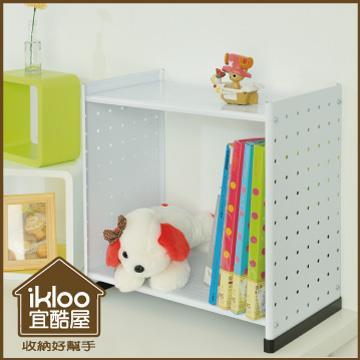 【ikloo】貴族風延伸式組合書櫃(雜誌版)
