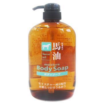 日本新馬油保濕沐浴乳-600ml x 2瓶組