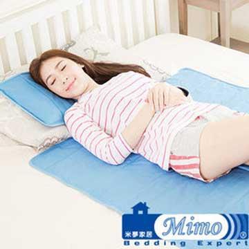 米夢家居 嚴選長效型降6度冰砂冰涼墊(小)30**40枕頭專用2入