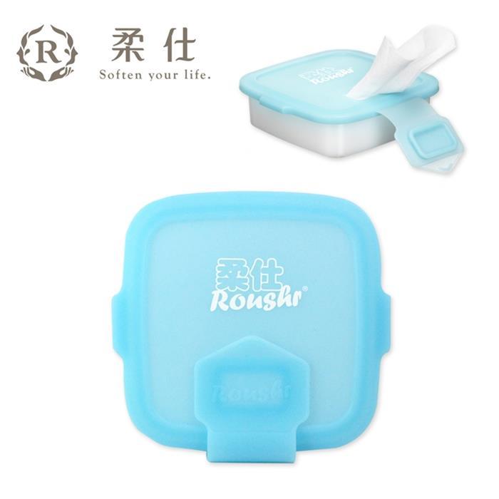 【Babytiger虎兒寶】Roaze柔仕 矽膠抽取盒 + DIY濕布巾隨行包(20片)
