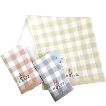 比得兔無捻精繡童巾-12入組(PR671/PR673)