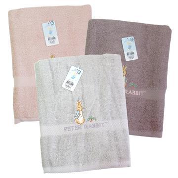 比得兔精繡浴巾-PR20111-BT-2入