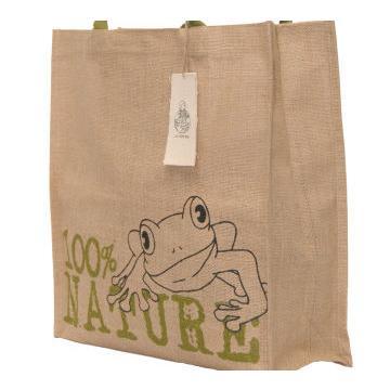 可愛青蛙潮麻包