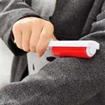 隨身攜帶衣物黏毛可水洗滾筒迷你除塵刷