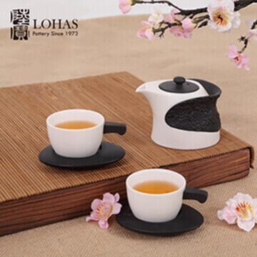 【陸寶】淨墨牡丹茶組