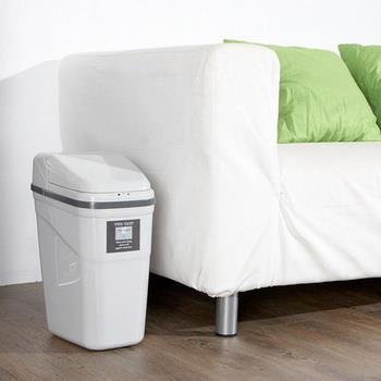 《收納家》 紅外線感應式自動垃圾桶 10L (灰色)