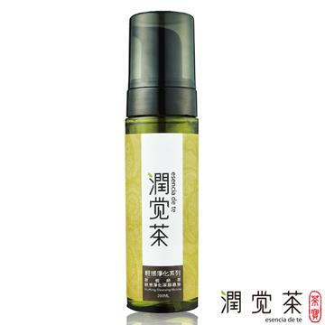 【茶寶 潤覺茶】茶樹綠茶輕感淨化潔顏慕斯(200ml)