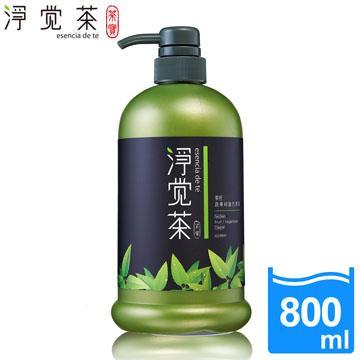 【茶寶 淨覺茶】茶籽蔬果碗盤洗潔液(800ml)
