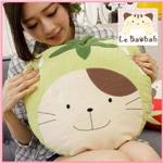 Le BaobabQ醬貓草莓抱枕(紅)