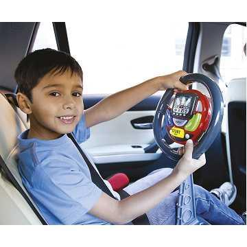 【英國嘉思通CASDON】SAT NAV 兒童導航有聲學習方向盤