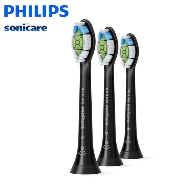 PHILIPS 飛利浦(黑鑽版)音波牙刷專用刷頭HX6063/96