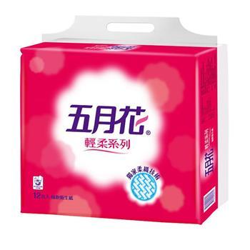 五月花 輕柔抽取式衛生紙 110抽x12包x6串/箱