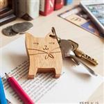 ~幸福森林~甜蜜情侶鑰匙圈 旅行貓貓 ~ 女孩