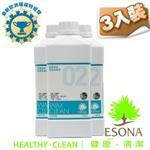 曜兆ESONA二號萬用亮光奈米蠟膜清潔劑1公升-三入裝