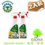 曜兆ESONA微泡沫天然環保獎桌面清潔劑500ml -二入裝