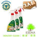 曜兆ESONA微泡沫天然環保獎桌面清潔劑500ml -三入裝