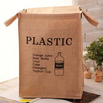 棉麻復古分類收納袋(箱)**1 款式隨機出貨