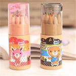 2款12入彩色鉛筆(附削筆器)彩色/鉛筆-隨機出貨