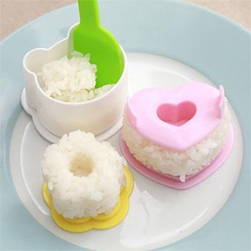 可愛熊貓飯糰模具四件組
