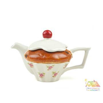 THE TEAPOTTERY 英國手工藝術茶壺 - 蛋糕ONE CUP 小型一杯份