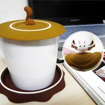 【Kalo卡樂創意】森林小樹下午茶組(杯墊/杯蓋)