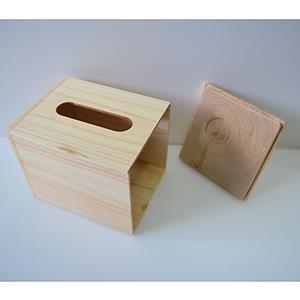 【一郎木創】心持木面紙盒(小)