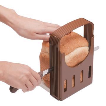 日本製吐司切片模+仙德曼刀匠別作麵包刀-2件組