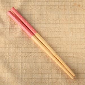 木趣生活小道具‧木筷‧粉紅點點2雙入
