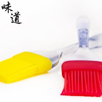 【味道】耐熱矽膠食物刷(耐熱200度C)-黃色