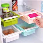 第二代升級版不透明冰箱保鮮抽拉式塑膠置物盒(隨機出貨)