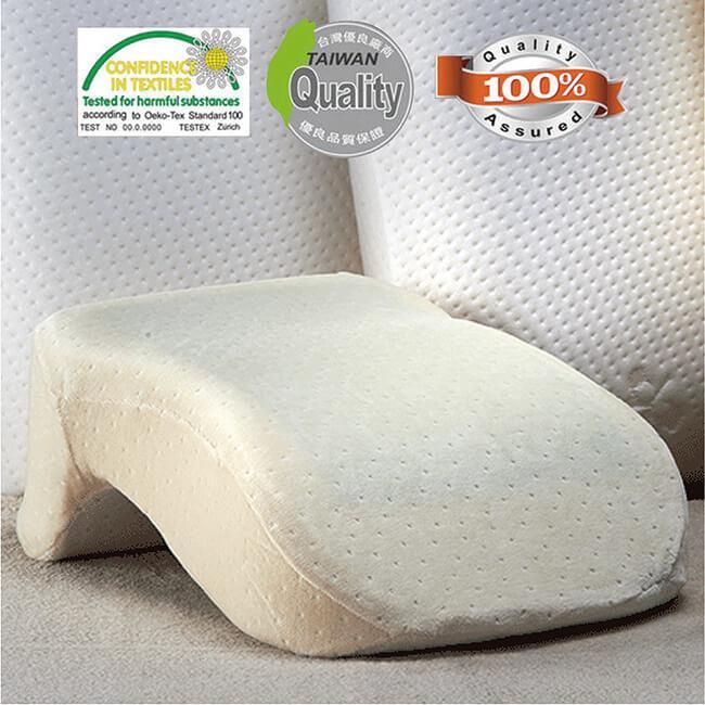 【關愛天使】記憶舒壓午睡枕MF-PL-01(涼感材質/降涼效果/台灣製造)