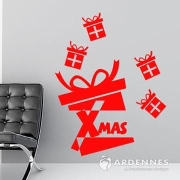 Christine聖誕節慶佈置/牆貼/玻璃貼/MA020特別禮物