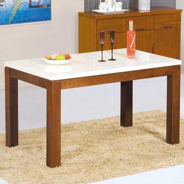 Yostyle 戈爾迪4.3尺石面餐桌